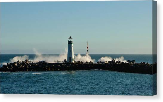Santa Cruz Walton Lighthouse Canvas Print