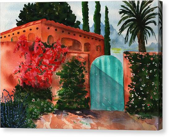 Santa Fe Dwelling Canvas Print