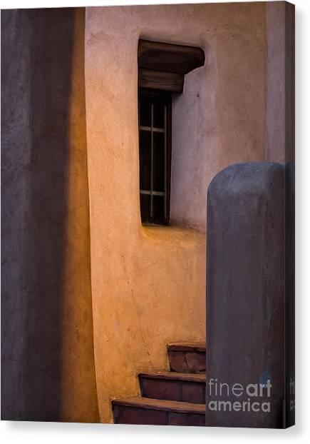 Santa Fe Steps Canvas Print
