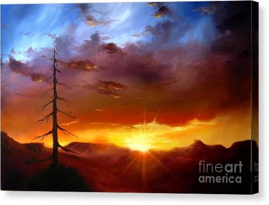 Santa Fe Sunset Canvas Print