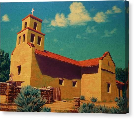 Santa Fe Tradition Canvas Print