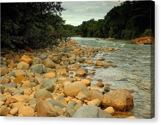 Santa Maria River Canvas Print