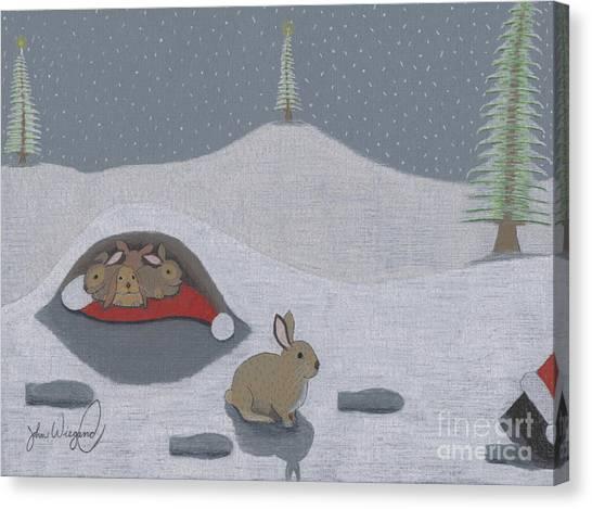 Santa's Ultimate Gift Canvas Print