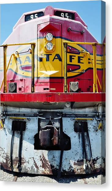 Sante Fe Railway Canvas Print
