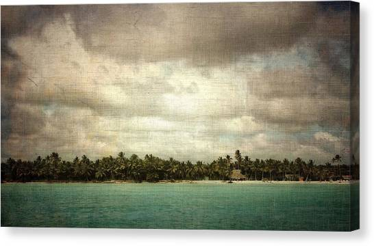 Saona Island , Santo Domingo Canvas Print