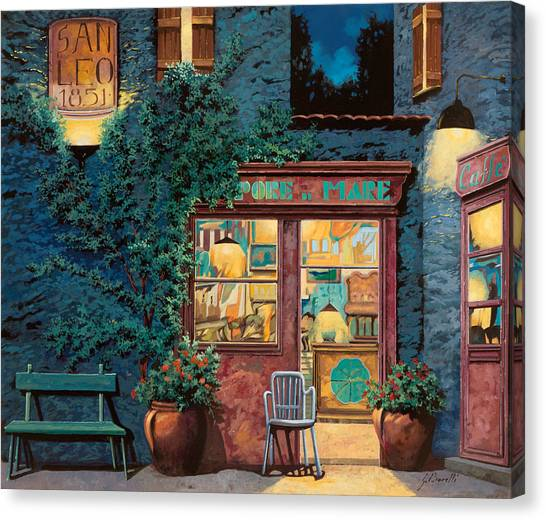 Pub Canvas Print - Sapore Di Mare by Guido Borelli