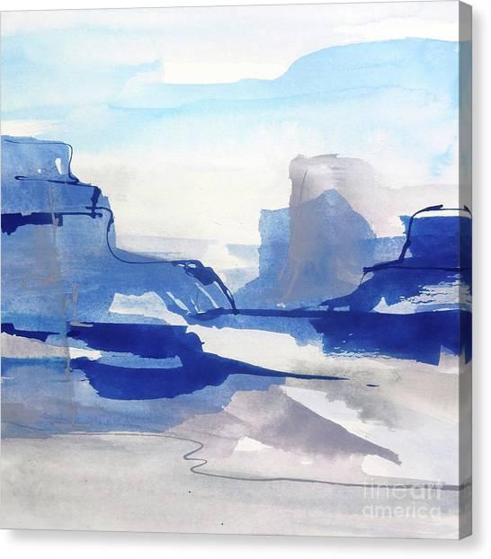 Canvas Print - Sapphire Cliff II by Chris Paschke