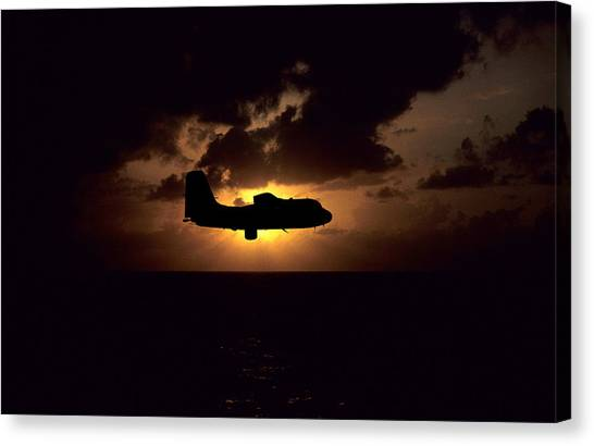 Sar Tracker Canvas Print by Mike Ray