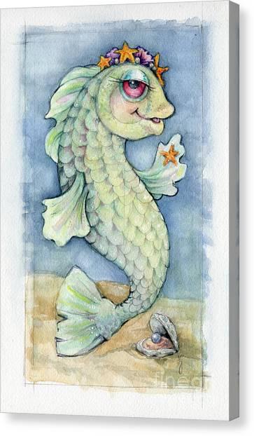 Sarafina Seabling Canvas Print