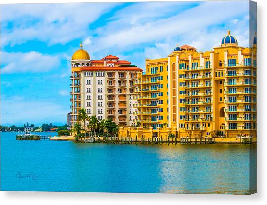 Sarasota Architecture Canvas Print