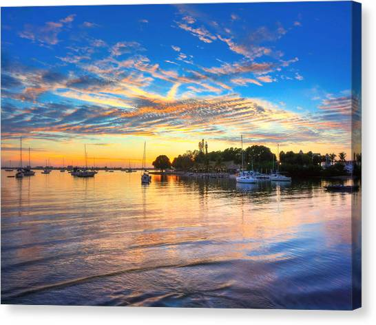 Sarasota Bay Canvas Print by Jenny Ellen Photography