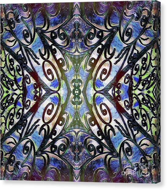 Sarasota Swirls Canvas Print