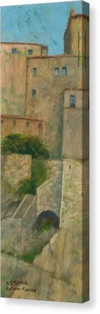 Sartene Corsica Canvas Print