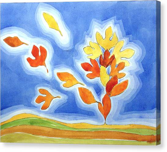 Sassafras Fall Canvas Print