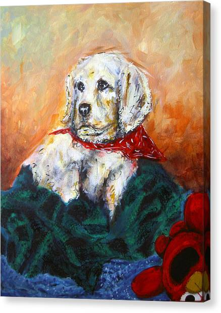 Canvas Print featuring the painting Sassy by Thomas Lupari