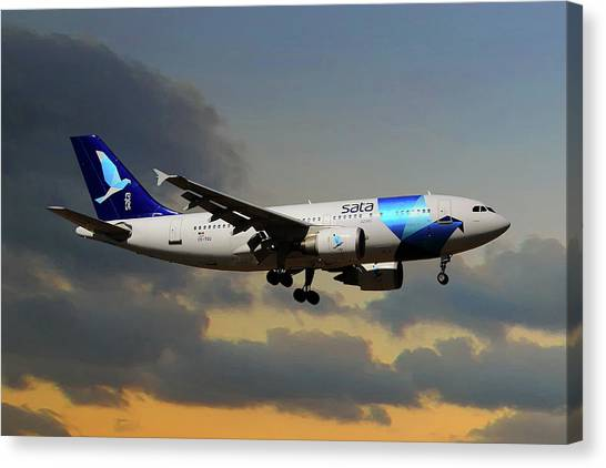 Airlines Canvas Print - Sata Airlines by Smart Aviation
