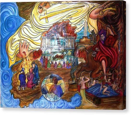 Satans Throne Canvas Print by Richard  Hubal