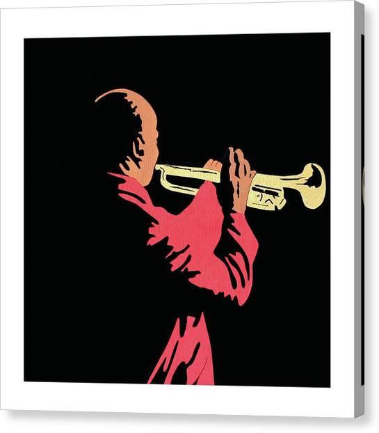 Satchmo Canvas Print