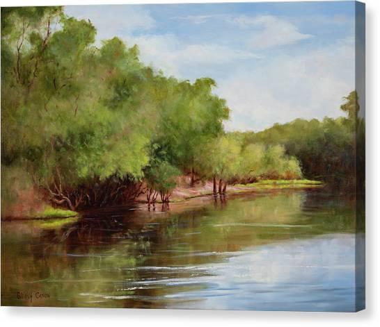 Satilla River Canvas Print