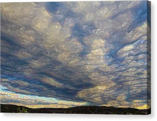Satin Sky No. 1 Canvas Print