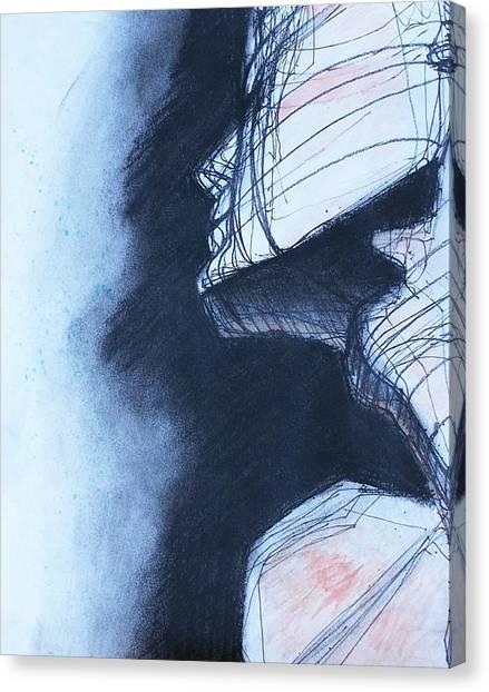 Satisfied Canvas Print
