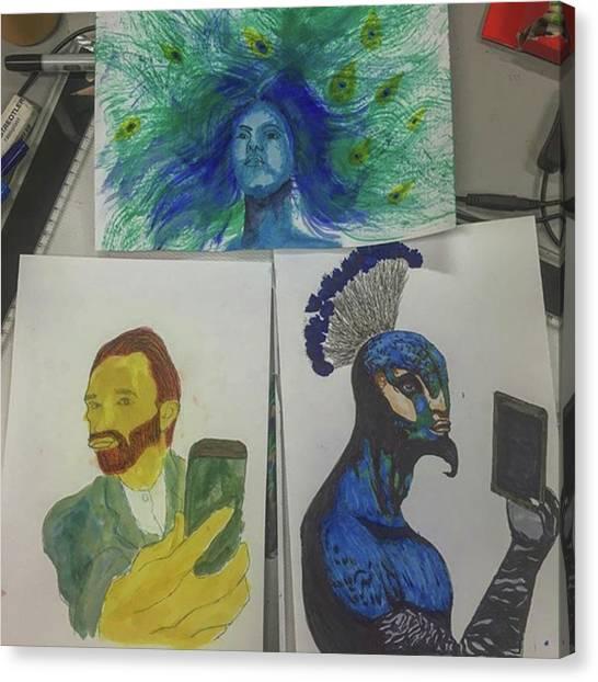 Superhero Canvas Print - Saturday Art :3 by Adamantine Wolverine