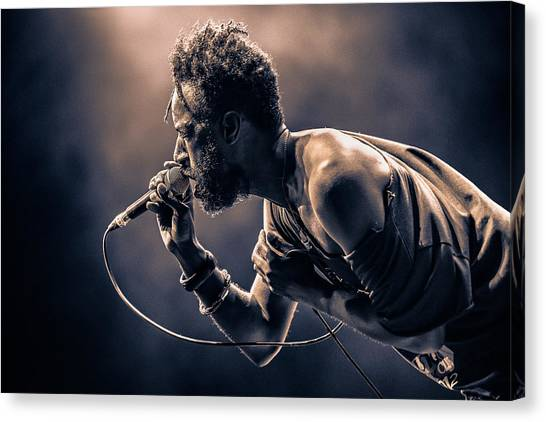 Concerts Canvas Print - Saul Williams by [zoz]