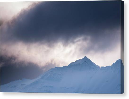 Savage Mountain Canvas Print