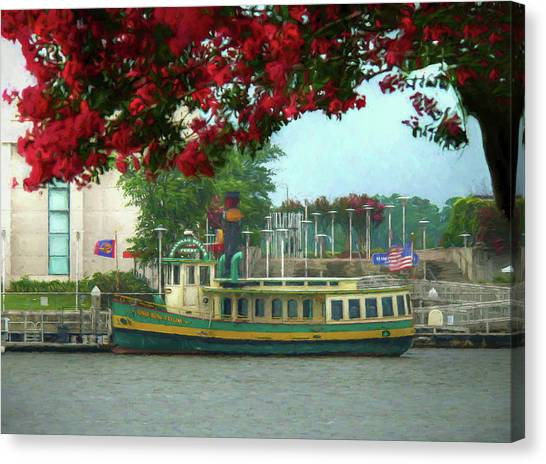 John Adams Canvas Print - Savannah Belles Ferry - The Susie King Taylor by John Adams