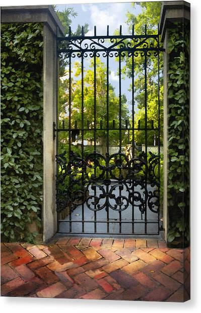 Savannah Gate II Canvas Print