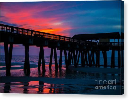 Savannah Sunrise Canvas Print