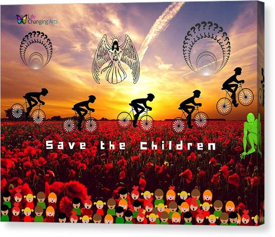 Save The Children Canvas Print