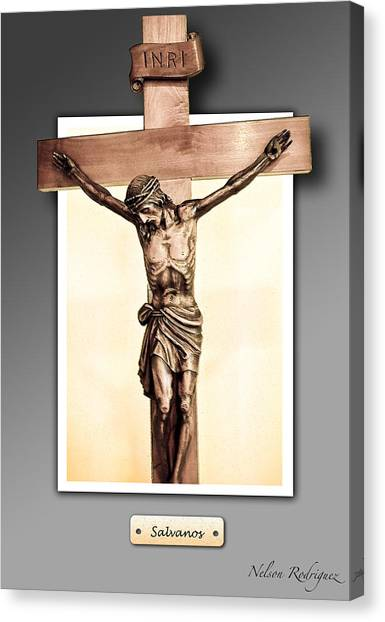 Save Us Canvas Print by Nelson Rodriguez