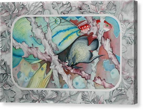 Saving The Reefs II Canvas Print by Liduine Bekman
