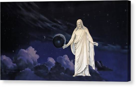 Savior Of The World Canvas Print