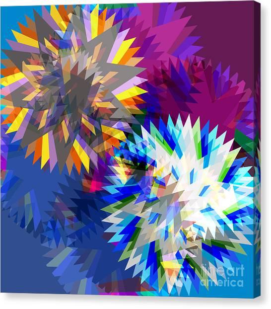 Transmission Canvas Print - Saw Blade by Atiketta Sangasaeng