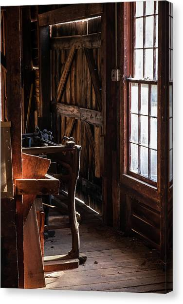 Batsto Saw Mill Canvas Print
