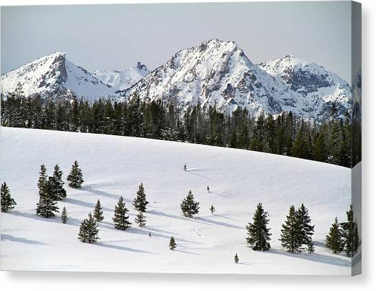 Sawtooth Wilderness Central Idaho Canvas Print