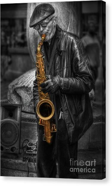 Sax Love Canvas Print
