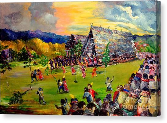 Sbiah Baah Canvas Print