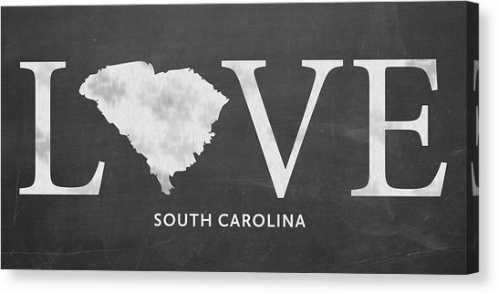 Sc Love Canvas Print