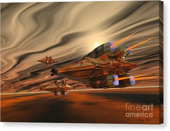 Stellar Canvas Print - Scadlands by Corey Ford
