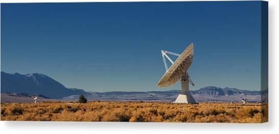 Satellite Canvas Print - Scanning The Skies by Andrew Soundarajan