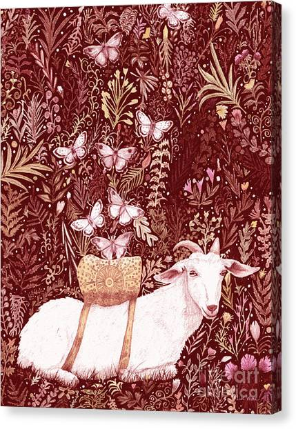 Scapegoat Healing Tapestry Print Canvas Print