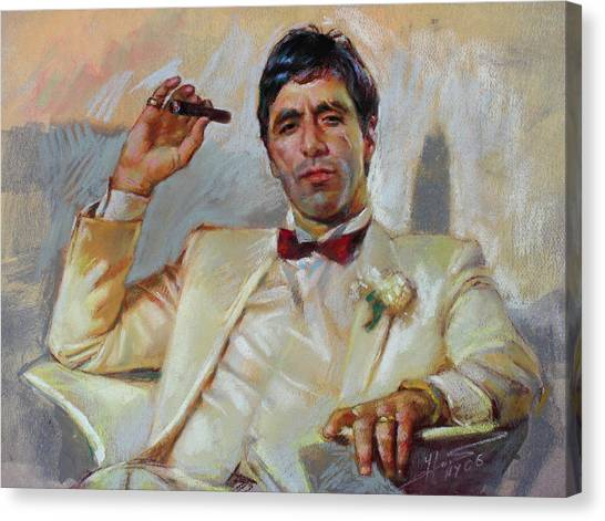 Scarface Canvas Print - Scarface by Ylli Haruni