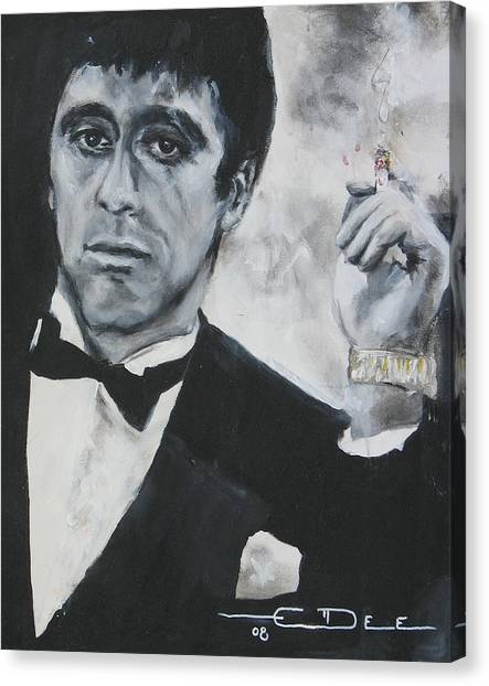 Scarface Canvas Print - Scarface2 by Eric Dee