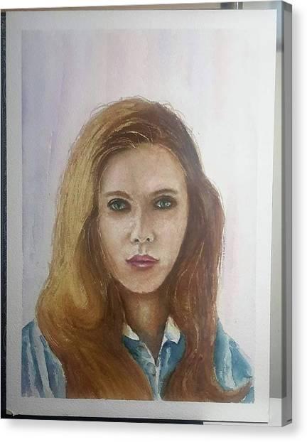 Scarlet1 Canvas Print