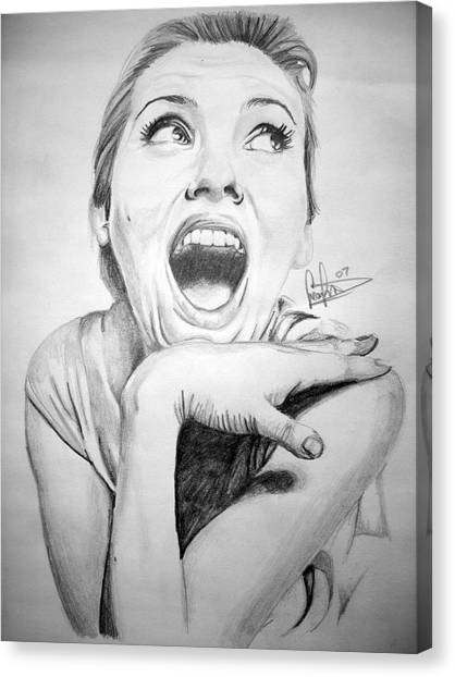 Scarlett Johansson Canvas Print by Sean Leonard