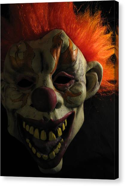 Scary Canvas Print