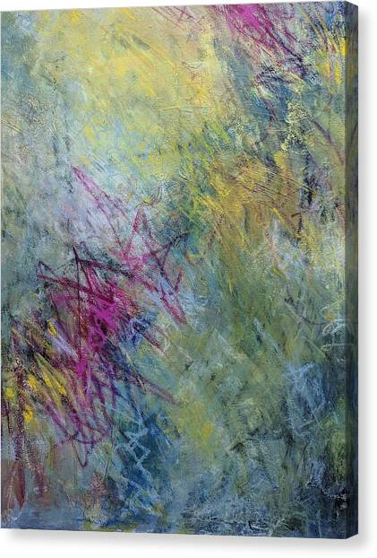 Scatter Canvas Print